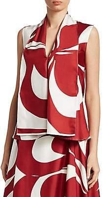 Victoria Beckham Women's Sleeveless Silk Blouse