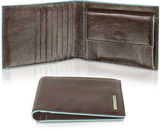 Piquadro Blue Square-Men's Billfold Leather Wallet