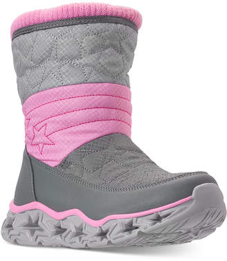 Skechers Little Girls' S Lights: Galaxy Lights - Star Bright Light-Up Boots from Finish Line