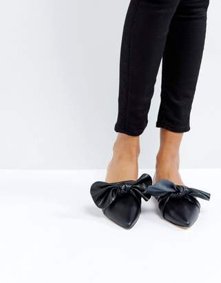 Missguided Knot Pointed Mule