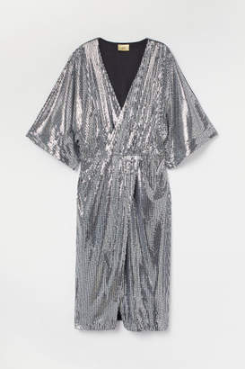 H&M Sequined dress - Gray