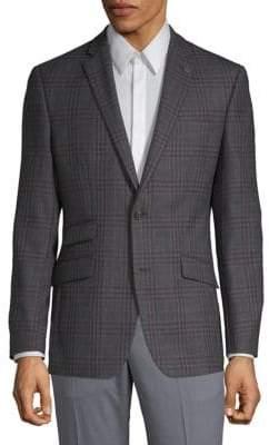 Ted Baker No Ordinary Joe Joey Check Wool Suit Jacket