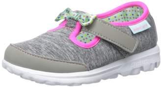 Skechers Go Walk Bitty Bow Sneaker (Toddler/Little Kid)