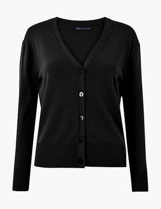 Marks and Spencer V-Neck Button Detailed Cardigan