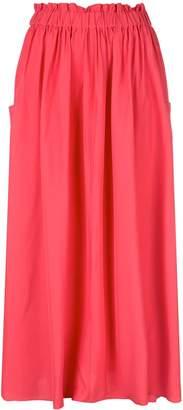 Co elasticated waist full skirt
