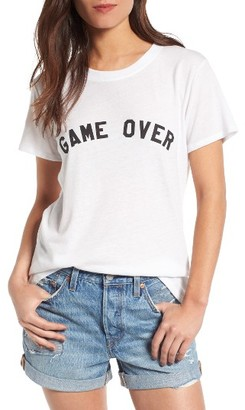 Women's Sub_Urban Riot Game Over Slouched Tee $34 thestylecure.com