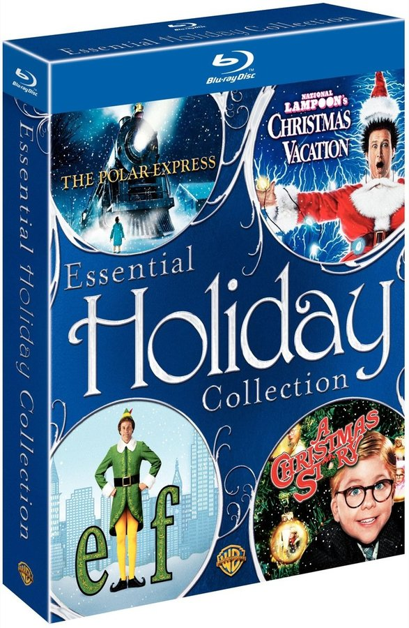 Warner Brothers Essential Holiday Collection: Polar Express/A Christmas Story/Christmas Vacation/Elf