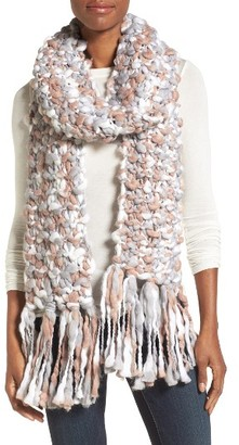 Women's Collection Xiix Space Dye Chunky Knit Muffler $48 thestylecure.com