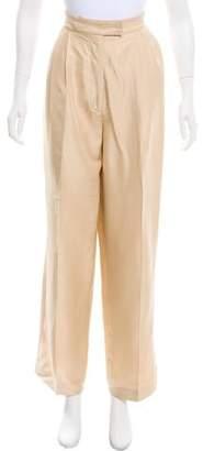 Stella McCartney High-Rise Wide-Leg Pants