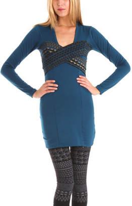 Grey Antics X Dress in Blue