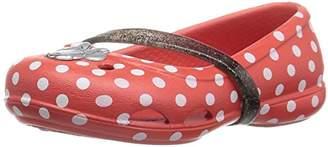 Crocs Girls' Lina Minnie K Flat