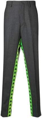 Kappa DANILO PAURA X logo stripe oversized trousers