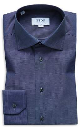 Eton Micro-Dobby Slim Fit Dress Shirt