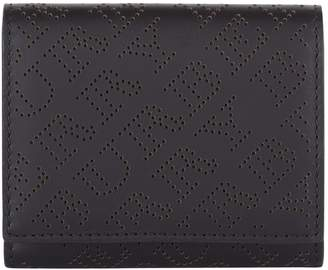 Burberry Leather Flap Wallet