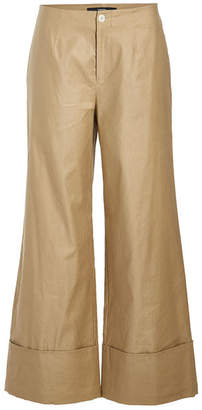Steffen Schraut Cuffed Pants with Cotton and Linen