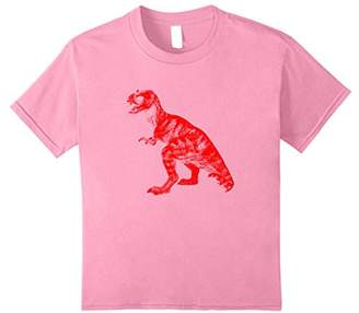 Red Dino Dinosaur T-Rex T-Shirt