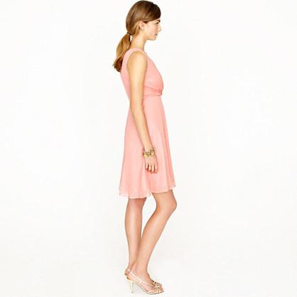 Evie dress in silk chiffon 4