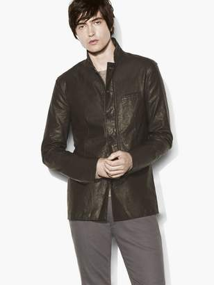 John Varvatos Coated Lightweight Jacket