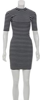Alexander Wang Stripe Bodycon Dress w/ Tags