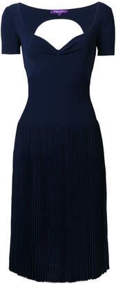 Ralph Lauren open back dress
