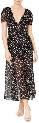 Betsey Johnson Cherry-Print Maxi Dress