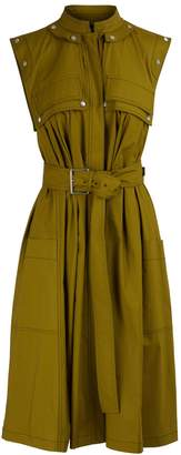 Proenza Schouler Belted midi dress