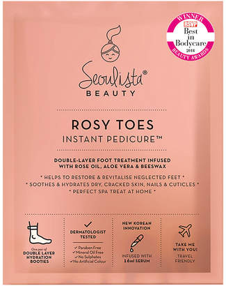 Marks and Spencer Seoulista Beauty Rosy Toes Instant Pedicure 32g