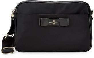 Karl Lagerfeld Paris Penny Nylon Messenger Bag