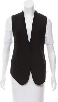 Helmut Lang Tailored Asymmetric Vest