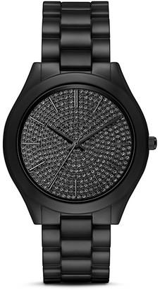 Michael Kors Slim Runway Pavé Watch, 42mm $350 thestylecure.com