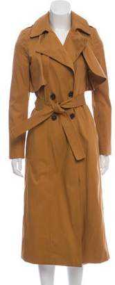BA&SH Button-Up Trench Coat w/ Tags