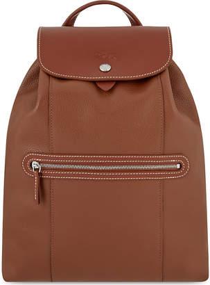 Longchamp Le Foulonné leather backpack