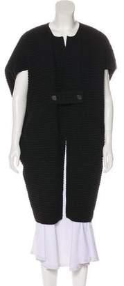 Zero Maria Cornejo Wool Longline Cardigan