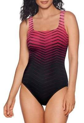 bbef2f502a8a8 Reebok Sport Fashion Prime Performance One-Piece Swimsuit