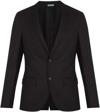 Lanvin Single-breasted wool and cashmere-blend blazer