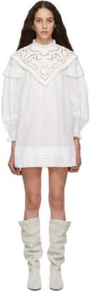 Isabel Marant White Galia Dress