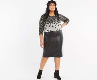 051b0219eb Oasis Leather Skirt - ShopStyle UK