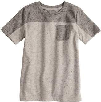 Sonoma Goods For Life Boys 4-12 SONOMA Goods for Life Colorblock Short Sleeve Pocket Tee