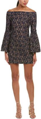 Keepsake Off-The-Shoulder Sheath Dress
