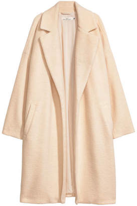 H&M Wool-blend Coat - White