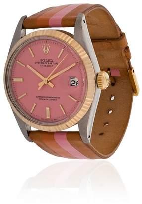 Rolex La Californienne Blossom Marigold Oyster Perpetual Datejust 36 mm watch