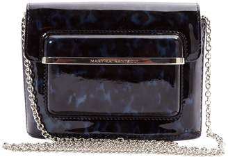 Mary Katrantzou Patent leather clutch bag