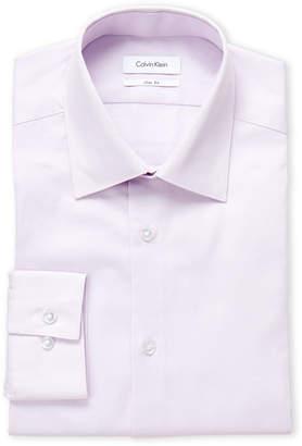 Calvin Klein Pink Slim Fit Dress Shirt