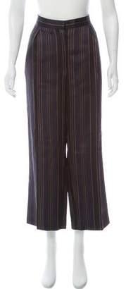 Dries Van Noten Wool-Blend Striped Pants w/ Tags