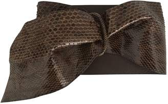 Valentino Python Belt