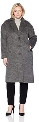 Jones New York Women's Plus Size Coat