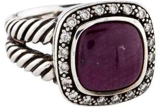 David Yurman Ruby & Diamond Moonlight Ice Ring