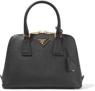 Prada Promenade Textured-leather Tote - Black