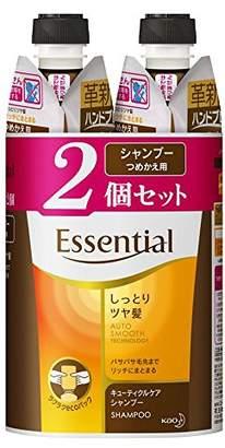 Essentiel (エッセンシャル) - エッセンシャル シャンプー しっとりツヤ髪 つめかえ用 340ml×2個
