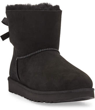 UGG Mini Bailey Bow II Shearling Fur Boots